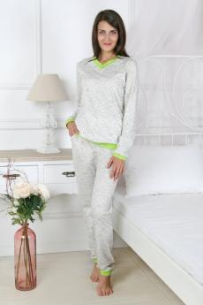 Пижама с брюками на манжете Милана